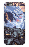 The Big Island, Hawaii - Lava Flow Scene iPhone 6s Plus Case by  Lantern Press