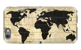 Vintage World Map iPhone 6 Plus Case by Devon Ross