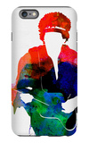 Jimi Watercolor iPhone 6 Plus Case by Lora Feldman