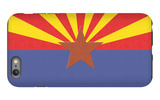 Arizona State Flag iPhone 6 Plus Case by  Lantern Press