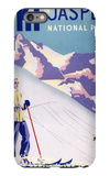 Jasper National Park, Canada - Woman Posing Open Slopes Poster iPhone 6 Plus Case by  Lantern Press