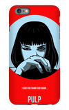 Pulp Poster 1 iPhone 6s Plus Case by Anna Malkin