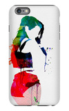 Iggy Watercolor iPhone 6 Plus Case by Lora Feldman