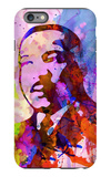 Martin Luther King Watercolor iPhone 6 Plus Case by Anna Malkin