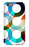 Rainbow Circles iPhone 6 Plus Case by  VolsKinvols