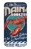 Maine Lobster iPhone 6 Plus Case by  Lantern Press