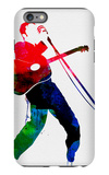 Elvis Watercolor iPhone 6 Plus Case by Lora Feldman