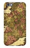 Ireland - Panoramic Map iPhone 6 Plus Case by  Lantern Press