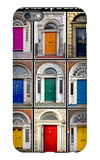 The Old Georgian Doors Of Dublin iPhone 6 Plus Case by Domenico Matteo