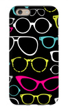 Retro Seamless Spectacles iPhone 6s Case by Alisa Foytik