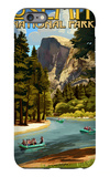 Merced River Rafting - Yosemite National Park, California iPhone 6 Plus Case by  Lantern Press