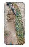 Peacock on Linen 2 iPhone 6s Plus Case by Chad Barrett