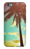 Retro Styled Hawaiian Palm Tree iPhone 6 Plus Case by Mr Doomits
