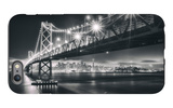 San Francisco Cityscape in Black and White, Bay Bridge iPhone 6s Plus Case by Vincent James