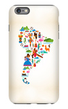 South America Love iPhone 6 Plus Case by  Marish