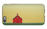 Barn Yellow Sky iPhone 6s Plus Case by Sharon France