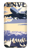 Denver, Colorado - Airport View iPhone 6 Plus Case by  Lantern Press
