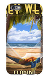 Key West, Florida - Hammock Scene iPhone 6 Plus Case by  Lantern Press