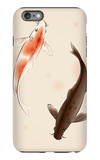Yin Yang Koi Fishes In Oriental Style Painting iPhone 6 Plus Case by  ori-artiste