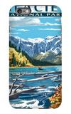 Avalanche Lake - Glacier National Park, Montana iPhone 6 Plus Case by  Lantern Press