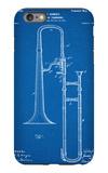 Slide Trombone Instrument Patent iPhone 6s Plus Case