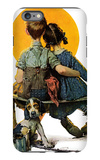 """Little Spooners"" or ""Sunset"", April 24,1926 iPhone 6s Plus Case by Norman Rockwell"