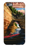 Pictured Rocks National Lakeshore, Michigan iPhone 6 Plus Case by  Lantern Press