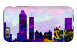Atlanta City Skyline iPhone 6 Plus Case by  NaxArt