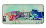 Ferrari Testa Rossa Watercolor 2 iPhone 6 Plus Case by  NaxArt