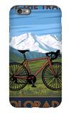 Mountain Bike - Colorado iPhone 6s Plus Case by  Lantern Press