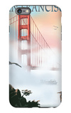 Golden Gate Bridge in Fog - San Francisco, California iPhone 6 Plus Case by  Lantern Press