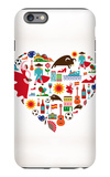 Spain Love iPhone 6s Plus Case by  Marish