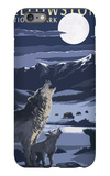 Lamar Valley Scene, Yellowstone National Park iPhone 6 Plus Case by  Lantern Press