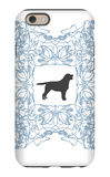 Blue Lab Frame iPhone 6s Case by  Avalisa