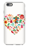 Mexico Love - Heart With Set Ofs iPhone 6 Plus Case by  Marish