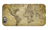 Vintage Map of the World, 1814 iPhone 6s Plus Case by  javarman