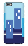 Blue Buildings iPhone 6s Plus Case by  Avalisa