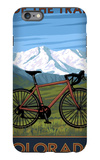 Mountain Bike - Colorado iPhone 6 Plus Case by  Lantern Press