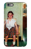 """Shiner"" or ""Outside the Principal's Office"", May 23,1953 iPhone 6 Plus Case by Norman Rockwell"