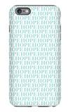 Aqua Hope iPhone 6s Plus Case by  Avalisa