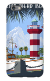 Hilton Head Island, SC - Harbour Town Lighthouse iPhone 6 Plus Case by  Lantern Press
