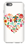 Mexico Love - Heart With Set Ofs iPhone 6s Plus Case by  Marish