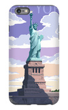 Statue of Liberty National Monument - New York City, NY iPhone 6s Plus Case by  Lantern Press
