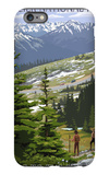 Glacier National Park - Going to the Sun Road and Hikers iPhone 6s Plus Case by  Lantern Press