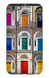 The Old Georgian Doors Of Dublin iPhone 6s Plus Case by Domenico Matteo