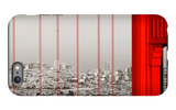 Golden Gate Bridge Closeup Panorama in San Francisco as the Famous Landmark. iPhone 6 Plus Case by Songquan Deng