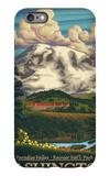 Paradise Inn, Mt. Rainier National Park, Washington iPhone 6s Plus Case by  Lantern Press