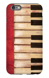 Piano Keys iPhone 6 Plus Case by  Hakimipour-ritter