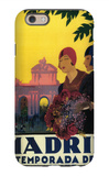 Madrid, Spain - Madrid in Springtime Travel Promotional Poster iPhone 6 Case by  Lantern Press