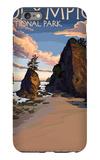 Kalaloch Beach - Olympic National Park, Washington iPhone 6 Plus Case by  Lantern Press